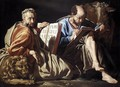 The Evangelists St Mark and St Luke c. 1635 - Matthias Stomer