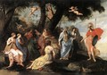 Minerva and the Muses 1640-45 - Jacques Stella