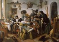 In Luxury, Look Out 1663 - Jan Steen