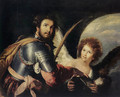 St Maurice and the Angel c. 1635 - Bernardo Strozzi