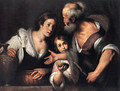 Prophet Elijah and the Widow of Sarepta 1630s - Bernardo Strozzi