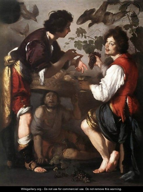 Joseph Telling his Dreams 1626 - Bernardo Strozzi