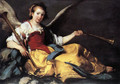 A Personification of Fame - Bernardo Strozzi