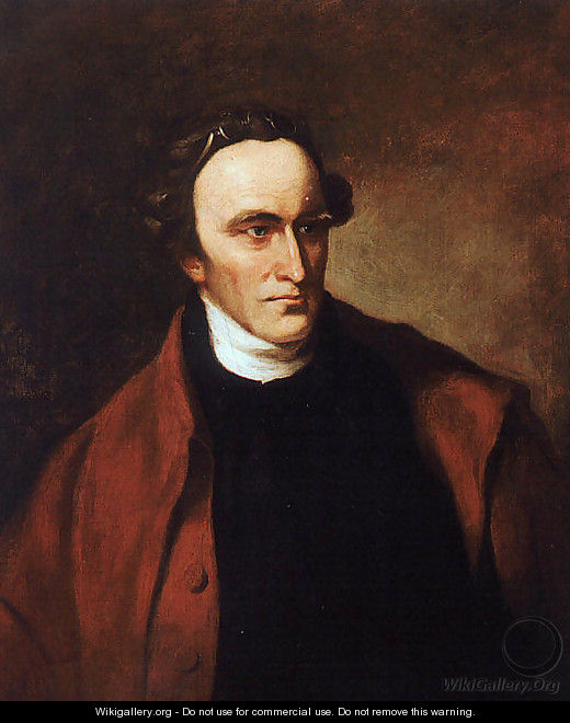 Portrait of Patrick Henry 1851 - Thomas Sully