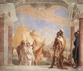 Eurybates and Talthybios Lead Briseis to Agamemmon 1757 - Giovanni Battista Tiepolo