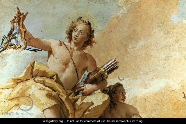 Apollo and Diana 1757 - Giovanni Battista Tiepolo