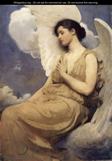Winged Figure 1889 - Abbott Handerson Thayer