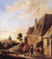 Village Scene (2) - David The Younger Teniers