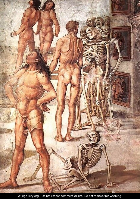 Resurrection of the Flesh (detail-4) 1499-1502 - Francesco Signorelli