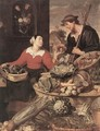 Fruit and Vegetable Stall (detail) - Frans Snyders