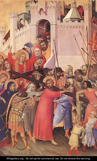 The Carrying of the Cross 1333 - Louis de Silvestre