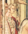 St. Martin is Knighted (detail-1) 1312-17 - Louis de Silvestre