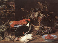 Still-life with Crab and Fruit - Frans Snyders