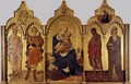 Virgin with Child and Four Saints c. 1435 - Stefano Di Giovanni Sassetta