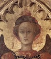 Virgin with Child and Four Saints (detail-2) c. 1435 - Stefano Di Giovanni Sassetta