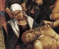 Lamentation over the Dead Christ (detail-1) 1502 - Francesco Signorelli
