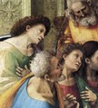 Communion of the Apostles (detail) 1512 - Francesco Signorelli