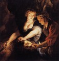 Judith with the Head of Holofernes c. 1616 - Peter Paul Rubens