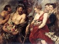 Diana Returning from Hunt c. 1615 - Peter Paul Rubens