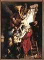 Descent from the Cross (centre panel) 1612-14 - Peter Paul Rubens