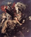 St George Fighting the Dragon 1606-10 - Peter Paul Rubens