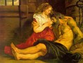 Roman Charity 1612 - Peter Paul Rubens