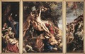 Raising of the Cross 1610 - Peter Paul Rubens