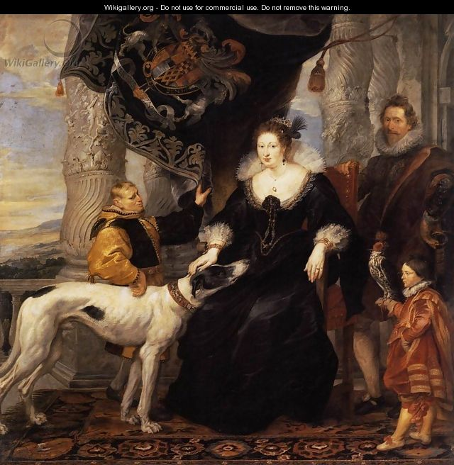 Portrait of Lady Arundel with her Train 1620 - Peter Paul Rubens