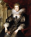 Portrait of Anne of Austria 1621-25 - Peter Paul Rubens