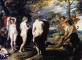 The Judgment of Paris c. 1636 - Peter Paul Rubens
