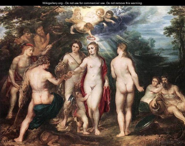The Judgment of Paris c. 1625 - Peter Paul Rubens