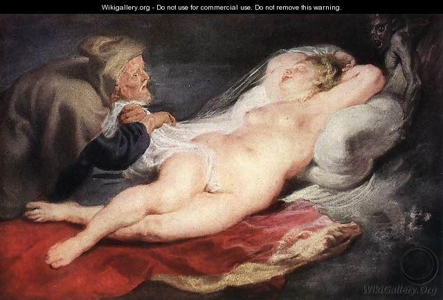 The Hermit and the Sleeping Angelica 1626-28 - Peter Paul Rubens
