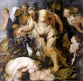 The Drunken Silenus 1616-17 - Peter Paul Rubens