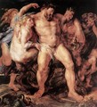 The Drunken Hercules c. 1611 - Peter Paul Rubens