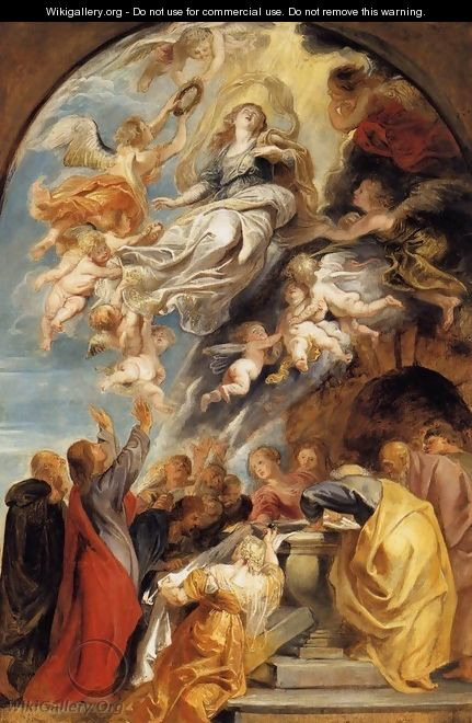 The Assumption of Mary 1620-22 - Peter Paul Rubens