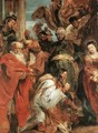 The Adoration of the Magi (detail-1) 1624 - Peter Paul Rubens