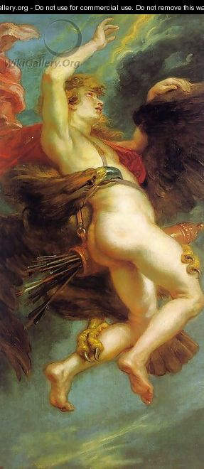 The Abduction of Ganymede - Peter Paul Rubens