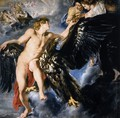 The Abduction of Ganymede 1611-12 - Peter Paul Rubens