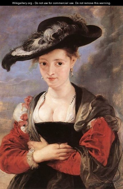 The Straw Hat c. 1625 - Peter Paul Rubens