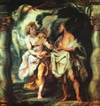The Prophet Elijah Receiving Bread and Water from an Angel 1625-28 - Peter Paul Rubens