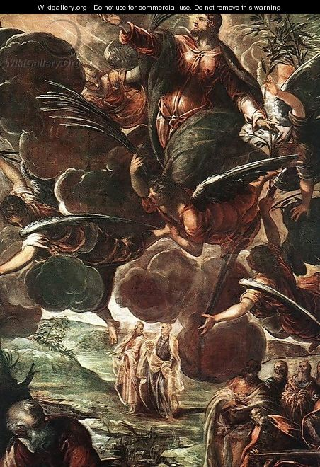 The Ascension (detail) 1578-81 - Jacopo Tintoretto (Robusti)