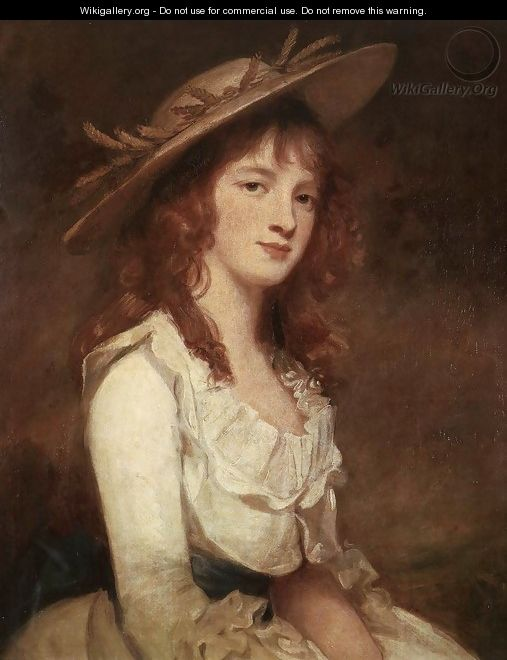 Miss Constable 1787 - George Romney