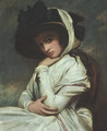 Lady Hamilton in a Straw Hat 1785 - George Romney