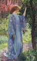 The Blue Kimono 1909 - Guy Rose
