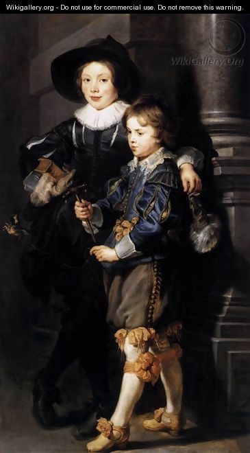 Albert and Nicolaas Rubens 1626-27 - Peter Paul Rubens