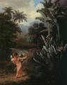 Cupid Inspiring the Plants with Love 1797 - Philip Reinagle