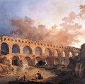 The Pont du Gard 1787 - Hubert Robert