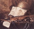 Still-Life of Musical Instruments - Pieter de Ring