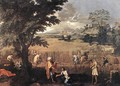 Summer (Ruth and Boaz) 1660-64 - Nicolas Poussin