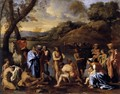 St John the Baptist Baptizes the People c. 1635 - Nicolas Poussin